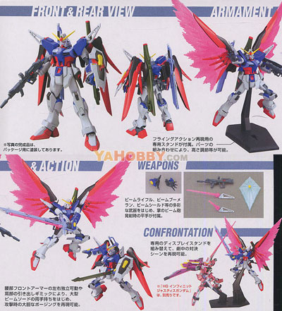 Gundam Seed Destiny HG 1/144 Model Kit ZGMF-X42S Destiny Gundam