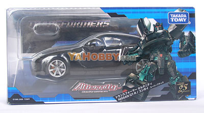 Transformers Alternity A-01 Nissan GT-R Convoy Super Black