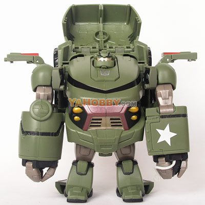 Transformers Animated Voyager Bulkhead