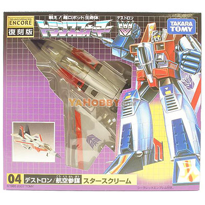 Takara Tomy Transformers Starscream Encore
